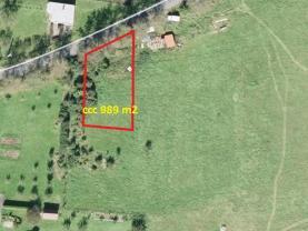 Prodej, stavební pozemek, 989 m2, Valašské Meziříčí