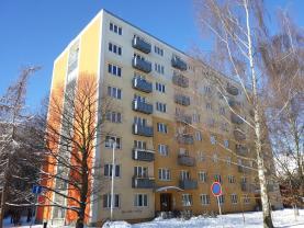 Pronájem, byt 1+1, 37 m2, Kladno, ul. Finská