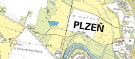 (Prodej, zahrada, 3 855 m2, Plzeň-město)
