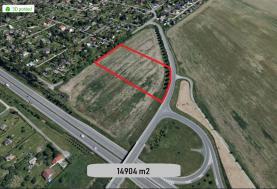 Prodej, stavební parcela, Plzeň, ul. Lednová