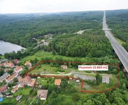 Prodej, pozemek, celková plocha 10.869 m2, Voznice u Dobříš (Prodej, pozemek,10869 m2, Voznice okr. Příbram), foto 4/5