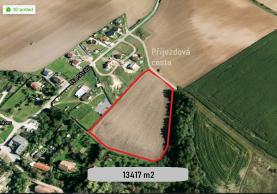 Prodej, stavební parcely, 13417 m2, Plzeň - Dolní Vlkýš