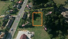 Prodej, pozemek, 1593 m2, Ostrava, ul. Těšínská