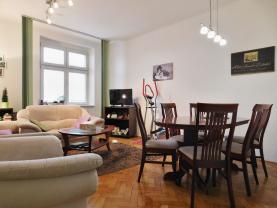 Pronájem, byt 2+1, 49 m2, Praha 3 - Žižkov