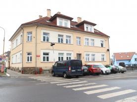 Prodej, byt 1+1, Milevsko, ul. Tyršovo nám.