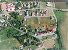 Prodej, pozemek, 940 m2, Borotín