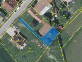 (Prodej, zahrada, 366 m2, Hlízov)