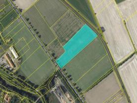 Prodej, pole, 17258 m2, Odry