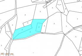 Prodej, louka, 5632 m2, Jankov - Benešov
