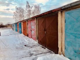 Prodej, garáž, 19 m2, OV, Chomutov, ul. Vinohradská