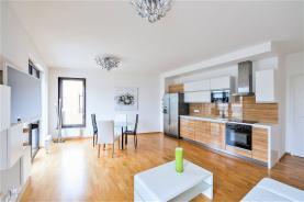 Pronájem, byt 3+kk, 77 m2, Praha 4 Michle