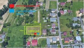 Prodej, stavební pozemek, 1800 m2, Šenov