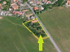Prodej, pozemek 2030 m2 Spálené Poříčí-Číčov