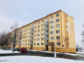 Prodej, byt 1+1, 36 m2, DV, Chomutov, ul. Zadní Vinohrady