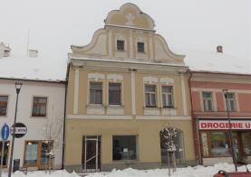 Pronájem, komerční prostory, Horažďovice, Mírové náměstí