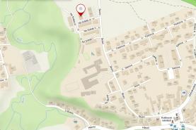 Mapka s umístěním (Prodej, byt 3+1, 70 m2, OV, Průhonice, ul. Na Sídlišti III.), foto 3/16