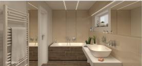 vizualizace koupelny (Prodej, rodinný dům 5+kk, Sadská, ul. Jordán)