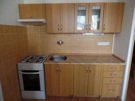 Kuchyně (Pronájem, byt 1+1, 35m2, Děčín-Želenice)