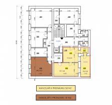 (Pronájem, kancelářské prostory, 29 m2, Pardubice - centrum)