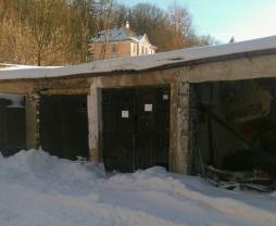Prodej, garáž, 17 m2, Aš, ul. Saská