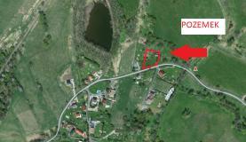 mapa (Prodej, stavební pozemek, 2 467 m2, Žďár, Velké Chvojno), foto 4/9