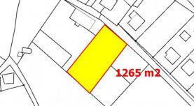 Prodej, pozemek 1265 m2, Česká Lípa - Sosnová