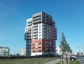 Pronájem, byt 1+kk, 39 m2, Praha 9 - Letňany