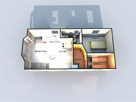 Prodej, mobilní dům, 33 m²