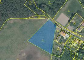 Prodej, stavební pozemek, Sukorady