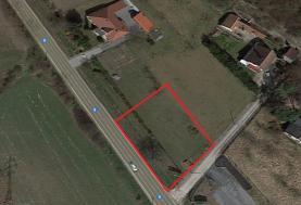 Prodej, stavební pozemek, 1190 m2, Kly