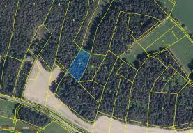 Prodej, les, 3292 m2, Litochovice