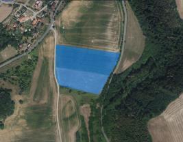 Prodej, orná půda, 27815 m2, Zvíkovec