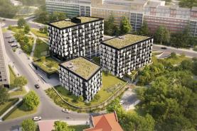 Prodej, byt 1+kk, 30 m2, Praha 8 - Střížkov, ul. Střížkovská