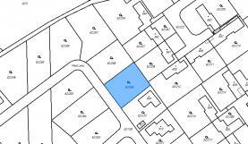 Prodej, pozemek, 800 m2, Zdiby, ul. Mezi Lesy