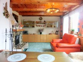 Obývací pokoj (Prodej, chata, 52 m2, Radošov), foto 4/20