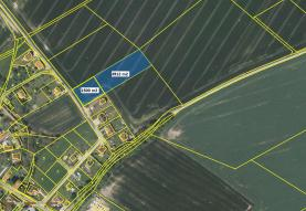 Prodej, pozemek 1500 m2, Křížkový Újezdec