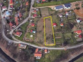 Prodej, pozemek, 1032 m2, Český Krumlov