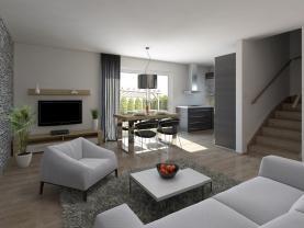 Prodej, rodinný dům 4+kk, 90 m2 + zahrada, Zbůch u Plzně