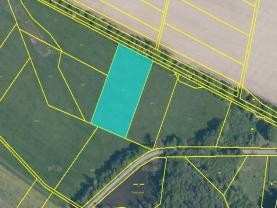 Prodej, pole, 5443 m2, Radenín