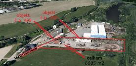 Prodej, stavební pozemek, 6685 m2, Hrdějovice