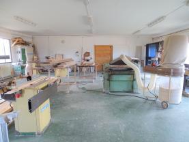 výrobna (Pronájem, výrobní prostor, 192 m2, Provodín)