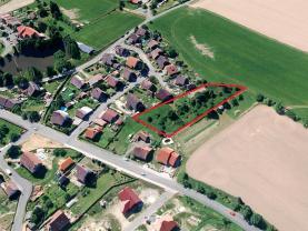 Prodej, stavební pozemek, 3470 m2, Bolešiny