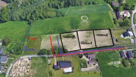 Prodej, stavební pozemek, 1000 m2, Rychvald, ul. Myslivecká