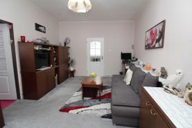 Obývací pokoj (Prodej, byt 3+1, 71 m², OV, Praha 7 - Letná)