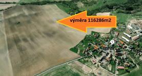 Prodej, pole, 116286 m2, Úštěk
