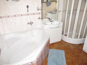 koupelna 3+1  (Prodej, rodinný dům, Protivín, ul. Fučíkova), foto 3/28