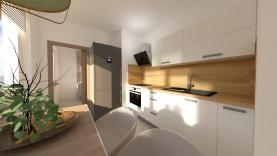 Prodej, nebytový prostor 1+1, 32 m2, Praha 5, Hlubočepy
