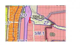územní plán (Prodej, stavební pozemek, 952 m2, Beroun, ul. Vojanova), foto 4/10