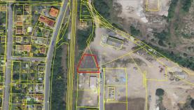 letecká,nový geometr.plán (Prodej, stavební pozemek, 952 m2, Beroun, ul. Vojanova), foto 3/10