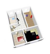 (Prodej, byt 3+1, 60 m2, OV, Chomutov, ul. Čechova), foto 4/12